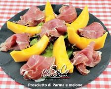 Jamón de Parma y melón