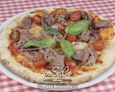 Pizza Solomillo
