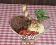 Copa helado: 3 bolas a elegir entre Chocolate, Fresa, Limón y Vainilla